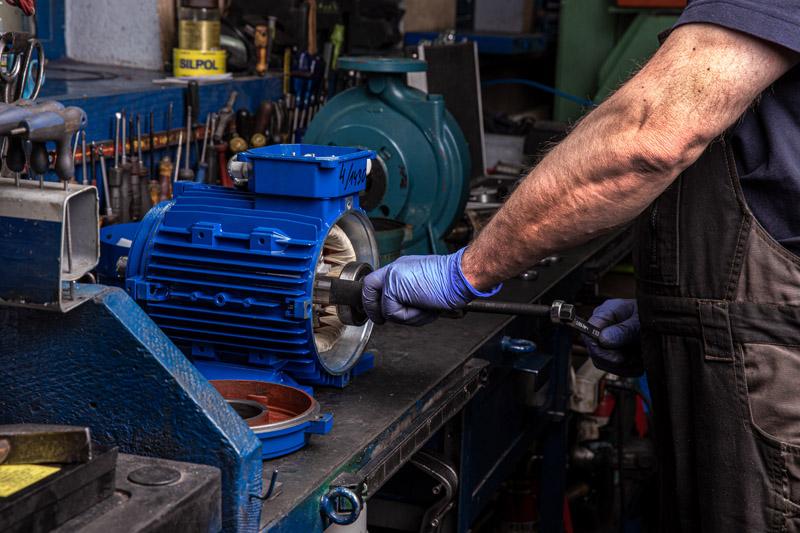 naprawa silników elektrycznych